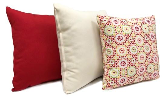 Moroccan Pattern Cushion, Set/3, 17x17
