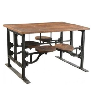 Industrial Swing Out Table 4