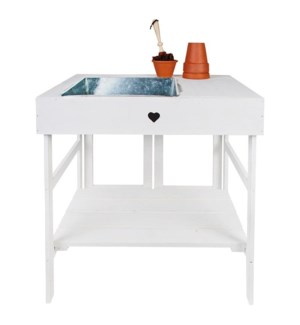 Potting table off white