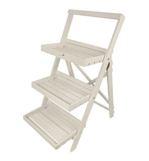 Stepped plant stand white. Pin