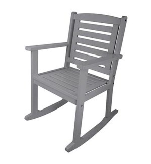 """Rocking chair grey. OS, FD"""