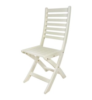 Foldable Chair White.