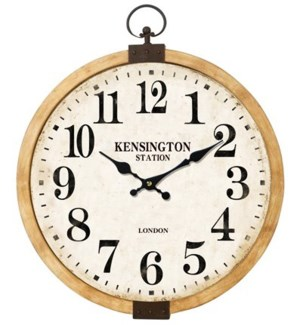 Kensington Station Clock, 17x12x17 Inches *Last chance!*