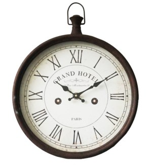 Grand Hotel Roman Numeral Clock, 19x12.5x17 Inches *On sale 25% off!