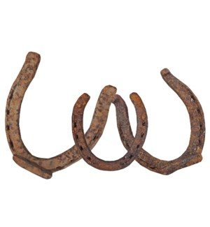 Antique Horseshoes, Various Sizes