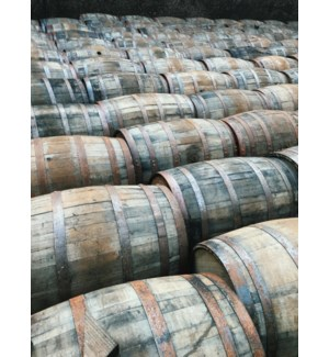 """Dark Oak Whisky Barrel, 53 gallons"""
