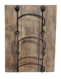 Wine Rack Board, Light Brown, 15x20x6 Made in Canada