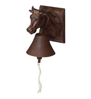 """""""Doorbell cow head. Cast iron,"""""""