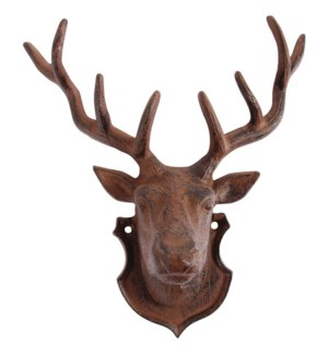 Wall decoration deer. Cast iro