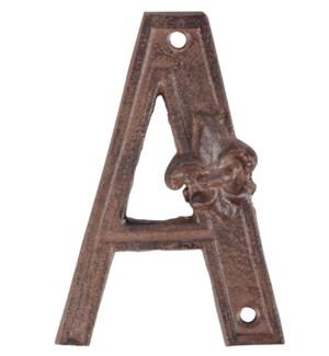"""""""Houseletter A. Cast iron. 8,4"""""""