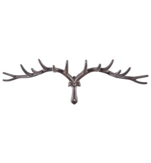 Antler Hook L. Cast Iron. 63,5x12,2x20,0cm. oq/4,mc/4 Pg.42