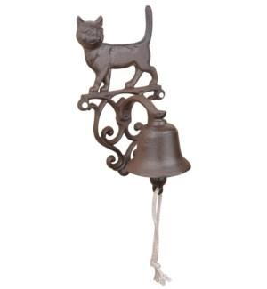 """""""Doorbell cat. Cast iron, cott"""""""