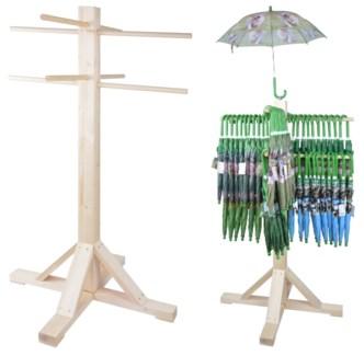 KG umbrella display wood Pinewood, beech wood 33.46x33.46x51.18