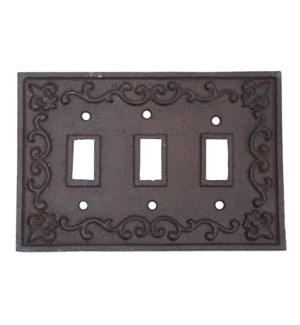 Kel Light Switch Cover Brown