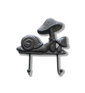 """""""Mushroom Hook Rack, Cast Iron"""""""