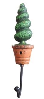 Swirl Tree Hook Single 1.9x1.6x7.5inch. On Sale 35% off original price of $3.00
