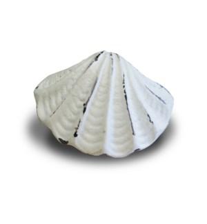 ANTIQUE WHITE CLAM KNOB