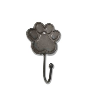 """""""Paw Hook, Cast Iron, Brown"""""""