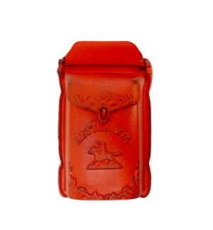 Cara Mailbox Red Cast Iron