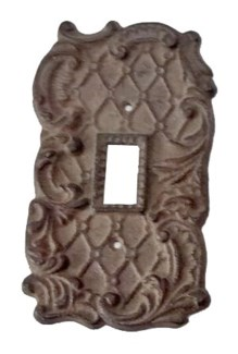 Single Pole Switch Cover, Rustic Black 3.1x5.5x0 inches