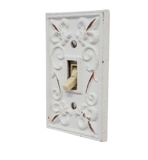Kel Light Switch Cover Wht
