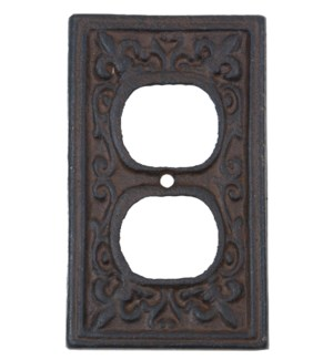 Kel Outlet Cover Brn
