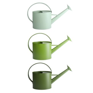 Green outdoor watering can 3/ass.