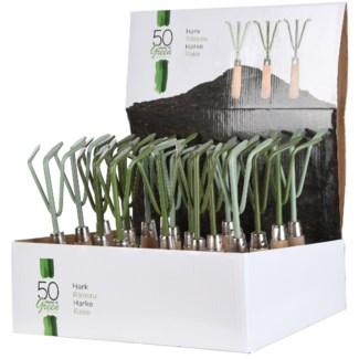 Green handrake 3/ass