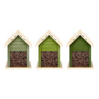 Green bee house 3/ass