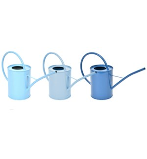 Blue shades indoor watering can ass
