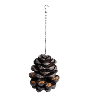 """Pinecone feeder. Polyresin, m"""