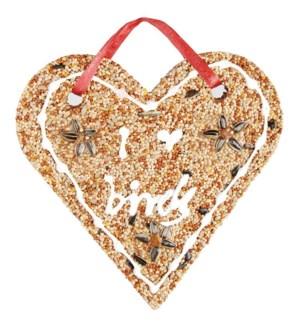 Birdseed heart. Bird Seed. 20