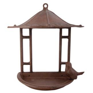 Wall bird house. Cast iron. 23,6x12,3x24,4cm. oq/8,mc/8 Pg.17
