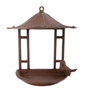 Wall bird house. Cast iron. 23