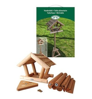 Thatched bird table in giftbox