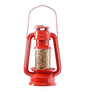 Lantern bird feeder, 6x4.5x9.4 inch