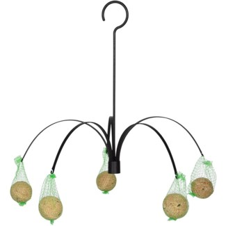 Feeder hanging palm -  2.6x1.2x16.1in.