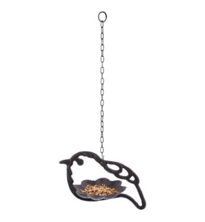 Bird feeder hanger cast iron