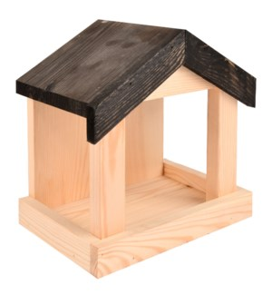 Wall bird table - (8.7x5.9x9.1 inch)