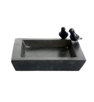Bird bath terrazzo square