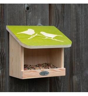 Diapositive bird wall feeding table