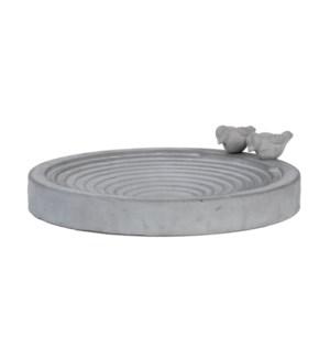 Bird bath concrete XL