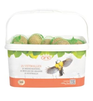 Suetball in bucket 25 pcs. Ing