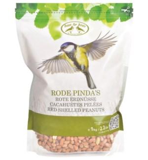 Red shelled peanuts 1 kg. Ingr