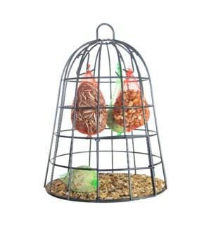 Bird food cage + bird food