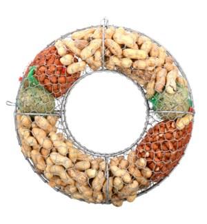 Bird food wreath incl. bird food