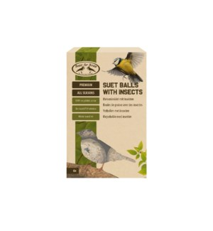Suet balls with insects 6 pcs