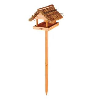 Thatched roof birdtableDNO