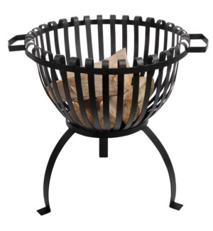 Fire basket tulip. Metal