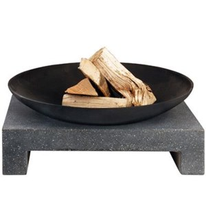 Firebowl granito table rectang